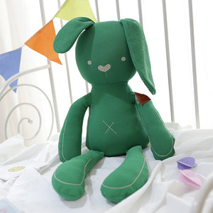 Cotton Bedtime Bunny (Green)