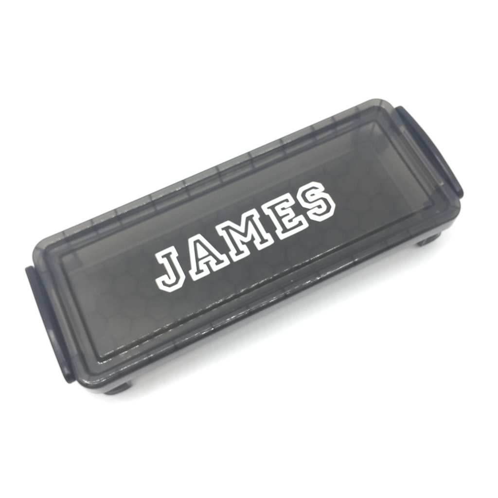 Plastic Pencil Case - Black