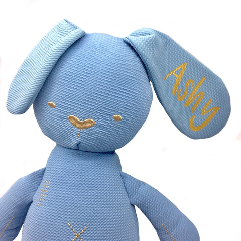 Cotton Bedtime Bunny (Blue)
