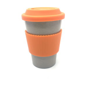 Plain Cafe Mug (Orange)