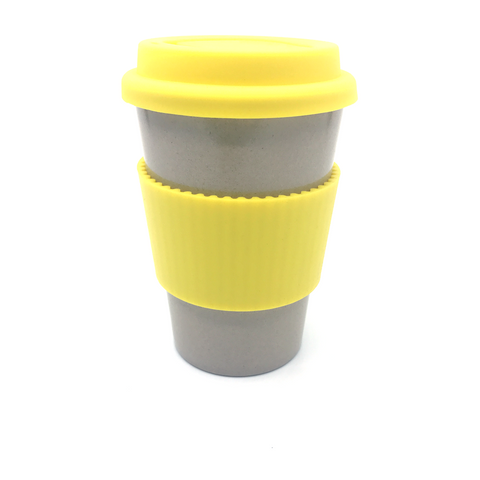Plain Cafe Mug (Yellow)