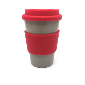 Plain Cafe Mug (Red)