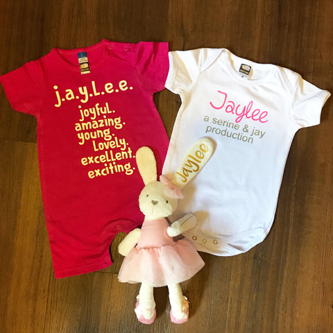 Baby Gift Box 6 : Double Romper + Soft Toy