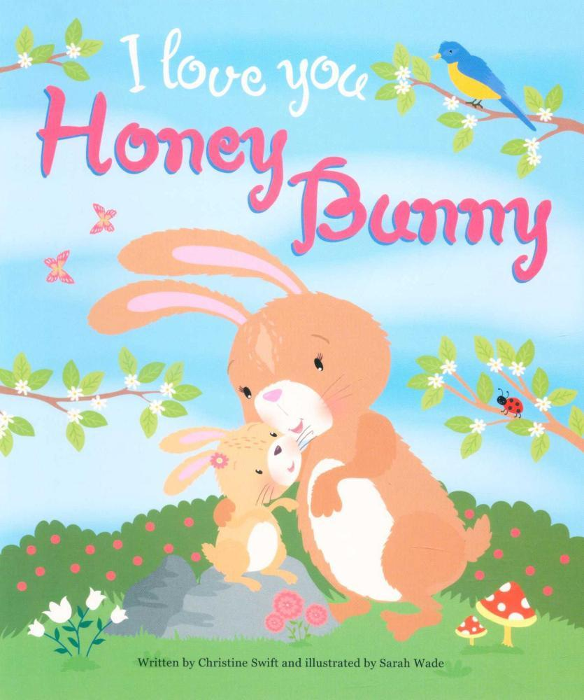 Book - I Love You Honey Bunny