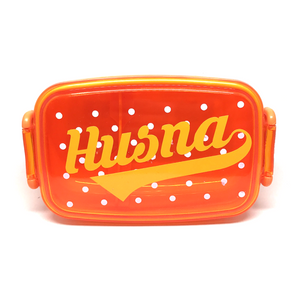 Personalised Kid's Lunchbox - Orange