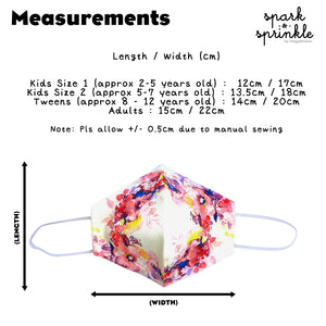 Reusable Mask (Geometric - Pink) LIMITED EDITION