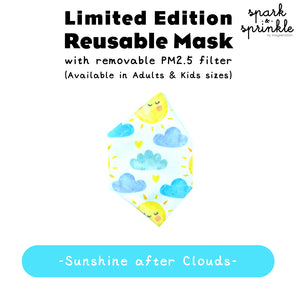 Reusable Mask (Sunshine after Clouds) LIMITED EDITION