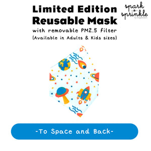 Alcan Care - Reusable Mask (To Space and Back) LIMITED EDITION