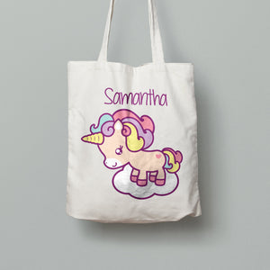 Tote Bag - Unicorn on a Cloud