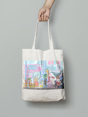 Urban Jungle (Tote Bag)