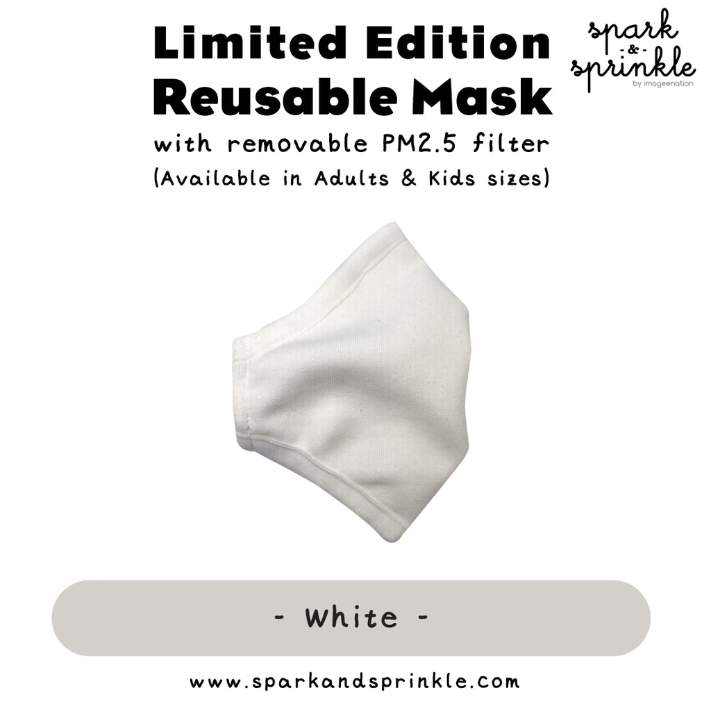 Alcan Care - Reusable Mask (White)