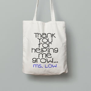 E15: Tote Bag - Helping Me Grow