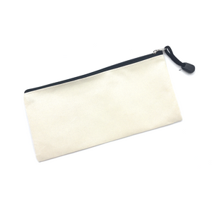 Canvas Pencil Case - Cream