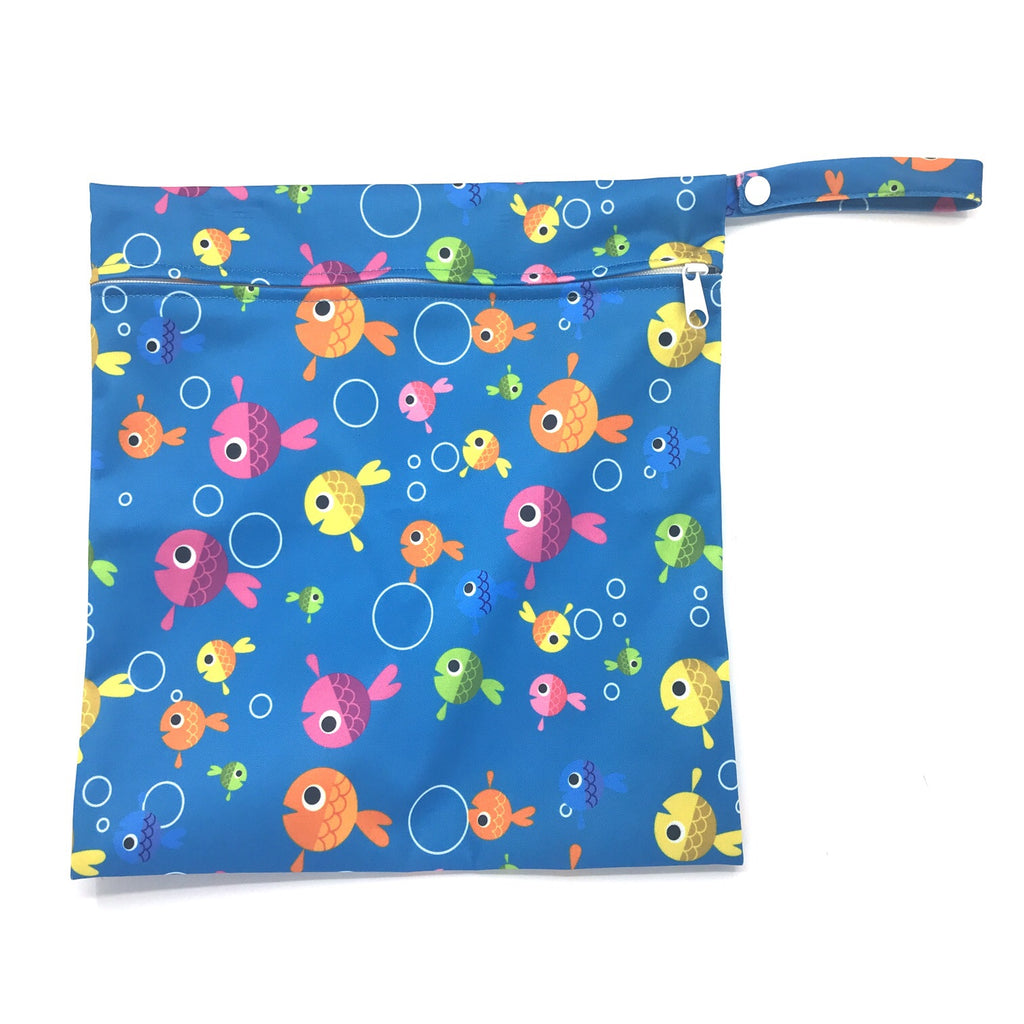 Medium Wetbag - Colorful Fish