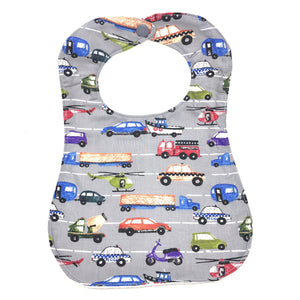 Handmade Bib - Traffic Jam