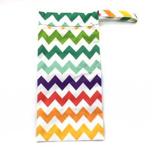 Umbrella Wetbag - Colourful Chevron