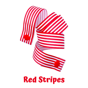 Mask Strap - Red Stripes