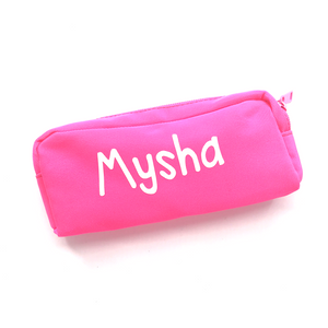 Premium Canvas Pencil case - Pink