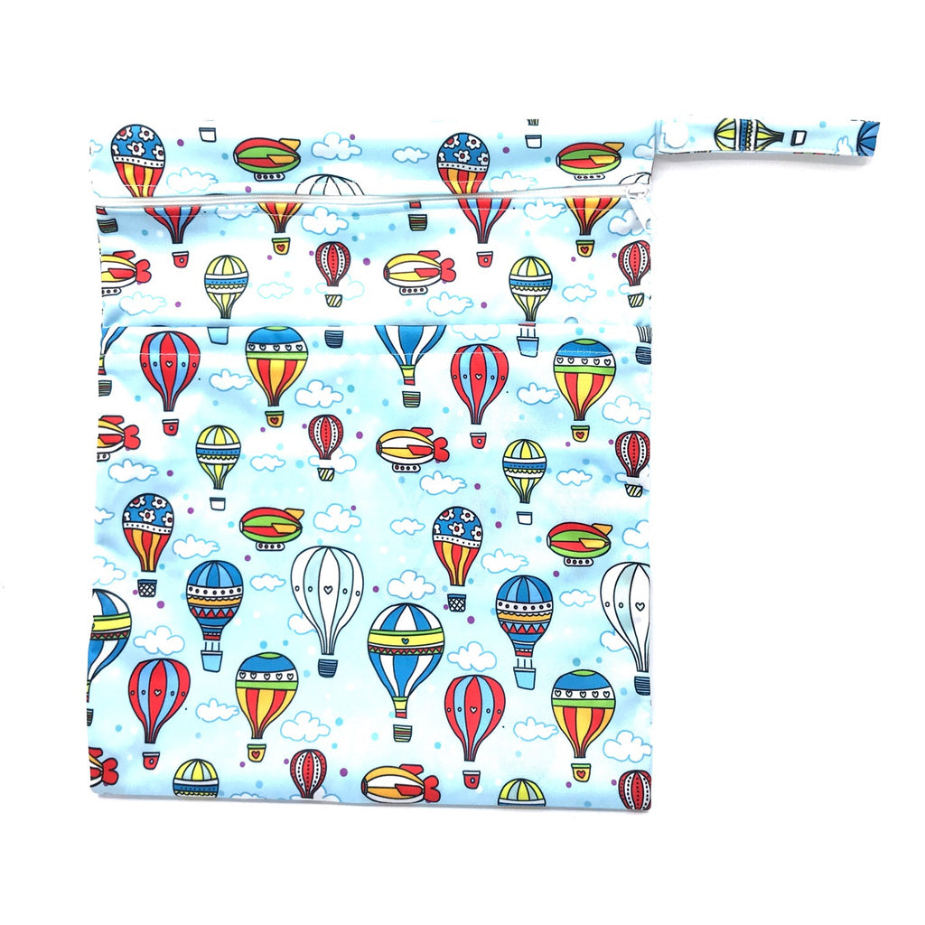 Large Wetbag - Hot Air Balloons