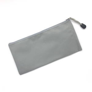 Canvas Pencil Case - Grey