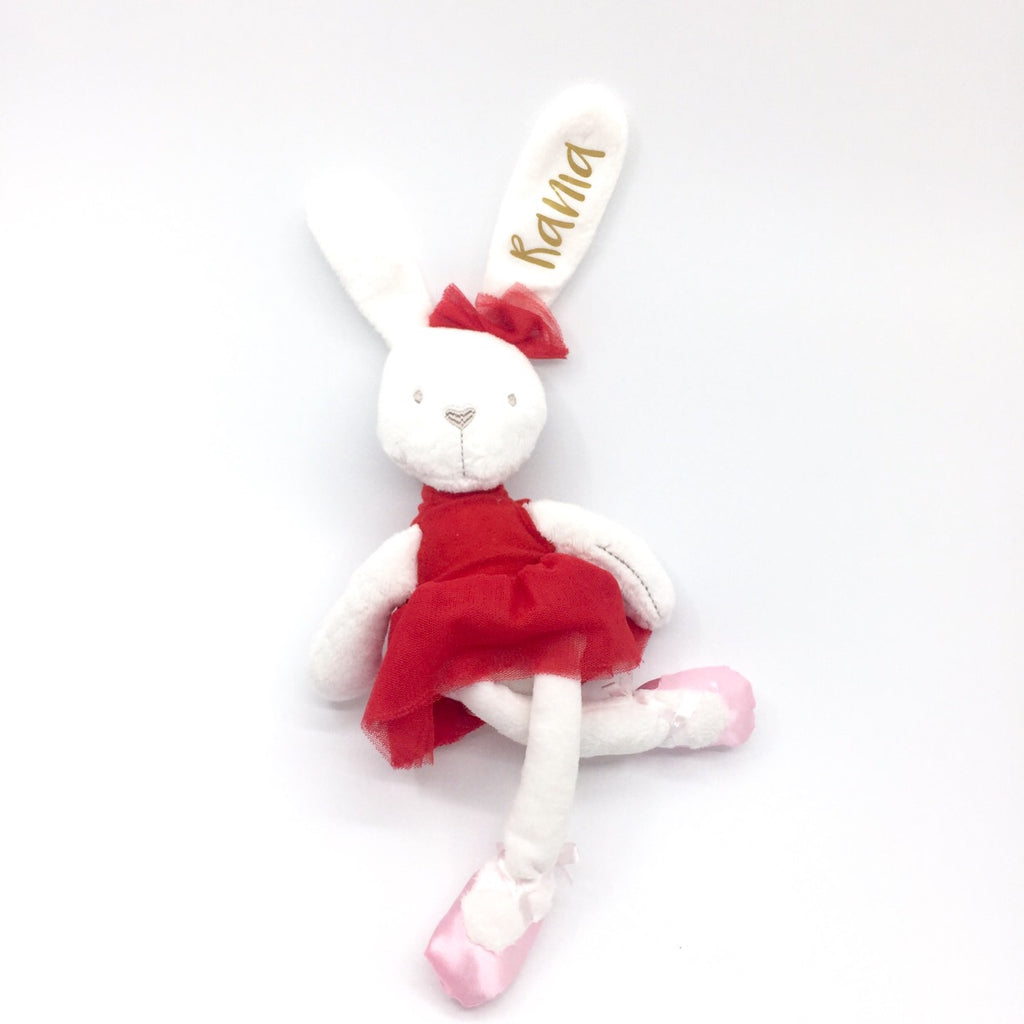 Ballerina Bunny (Red)