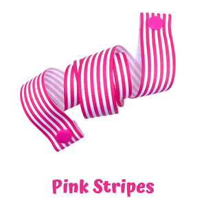Mask Strap - Pink Stripes
