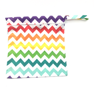 Medium Wetbag - Colourful Chevron