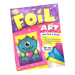 Foil Art - Monster