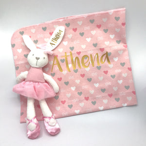 Baby Gift Box 2 : Blanket + Soft Toy