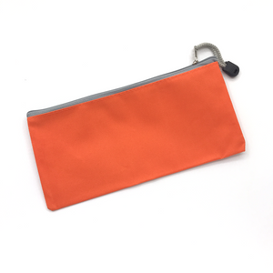 Canvas Pencil Case - Orange
