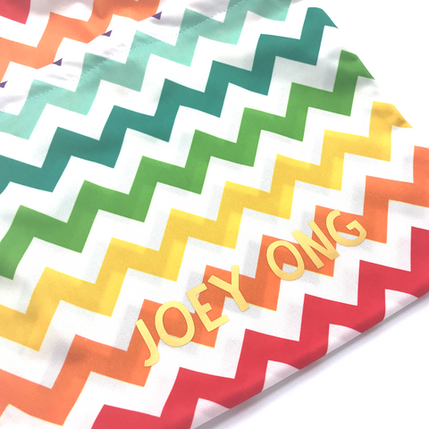 XL Wetbags - Colorful Chevron
