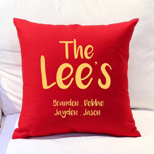 Cushion - English Surname Family Cushion