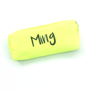 Premium Canvas Pencil case - Neon Green