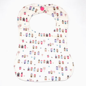 Handmade Bib - Little House (Bandana)