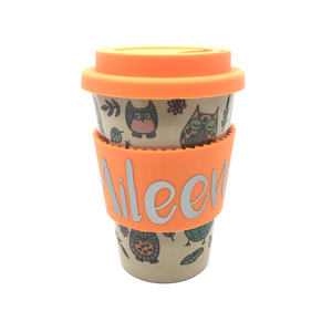 Owl Hourly Cafe Mug (Orange)