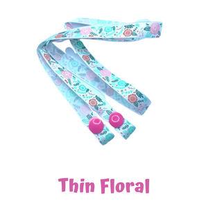 Mask Strap - Thin Floral