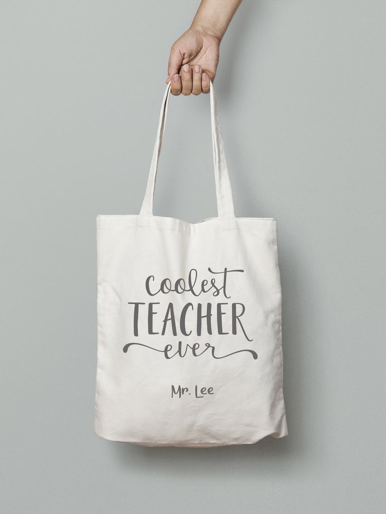 E22 : Tote Bag - Coolest Teacher Ever