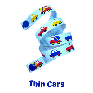 Mask Strap - Thin Cars
