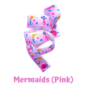 Mask Strap - Mermaids (Pink)