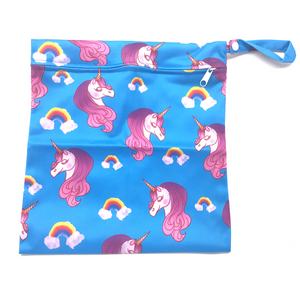 Medium Wetbag - Blue Unicorn