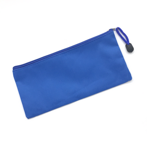 Canvas Pencil Case - Royal Blue