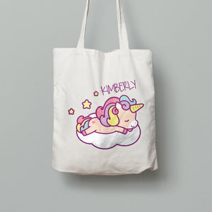 Tote Bag - Sleepy Unicorn
