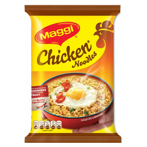 MAGGI CHICKEN NOODLES 142GM MRP RS27