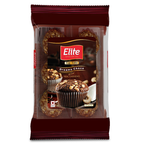 ELITE DREAMS CHOCO CUP CAKE 150GM MRP RS50