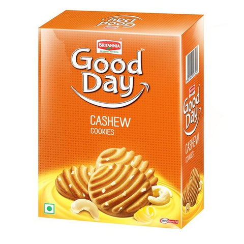 GOOD DAY CASHEW COOKIES 250GM MRP RS60