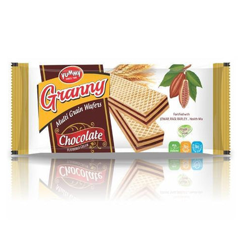 GRANNY MULTI GRAIN WAFERS CHOCOLATE MRP RS65