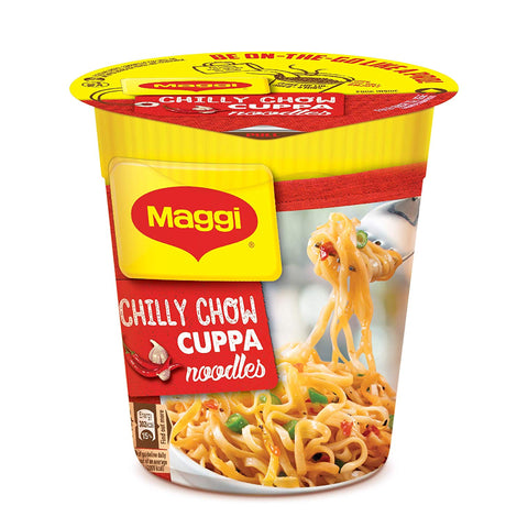 MAGGI CHILLI CHOW CUPPA NOODLES MRP RS40