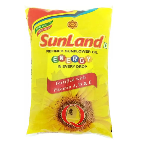 SUNLAND SUNFLOWER OIL 1LTR MRP RS105
