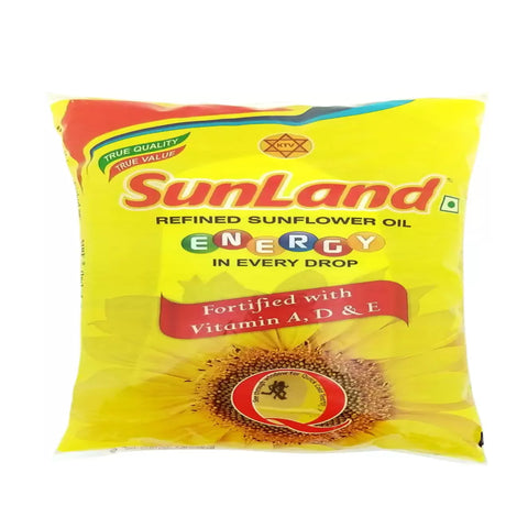 SUNLAND SUNFLOWER OIL 500ML