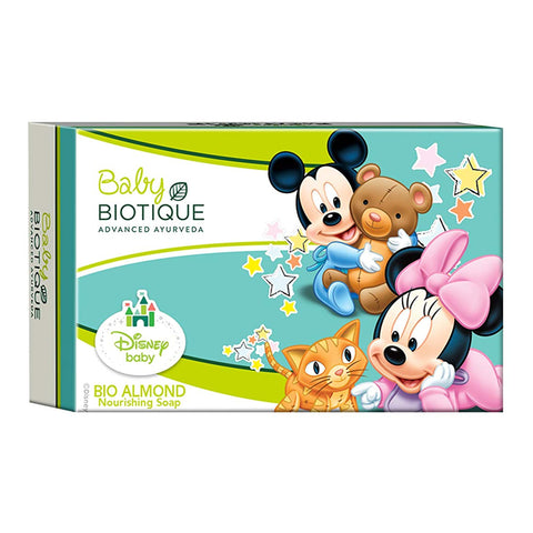 Biotique Disney Baby Bio Almond Mickey Nourishing Soap (75g)